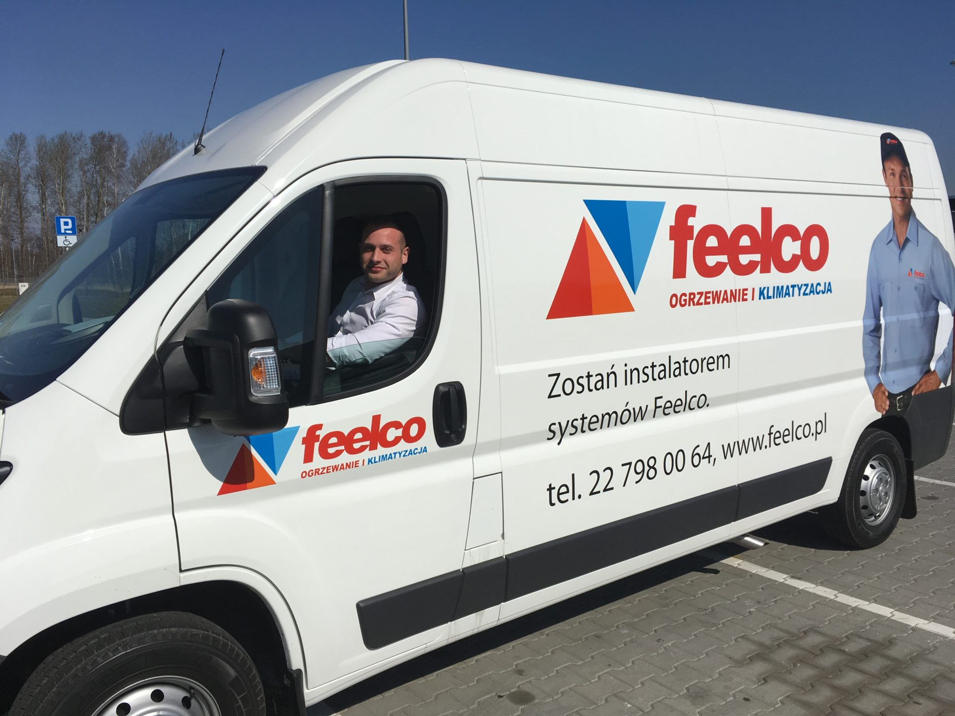 feelco demo van